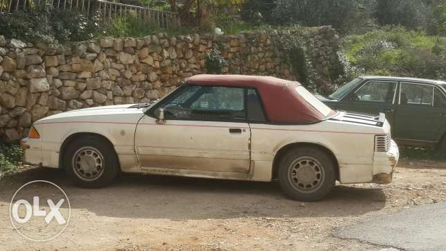 Ford Mustang 2.3lx 1989
