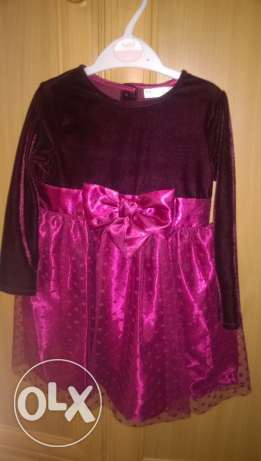 Dress for baby girl size 9-12 months