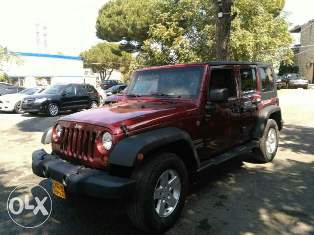 jeep wrangler 2010 full option clean carfax