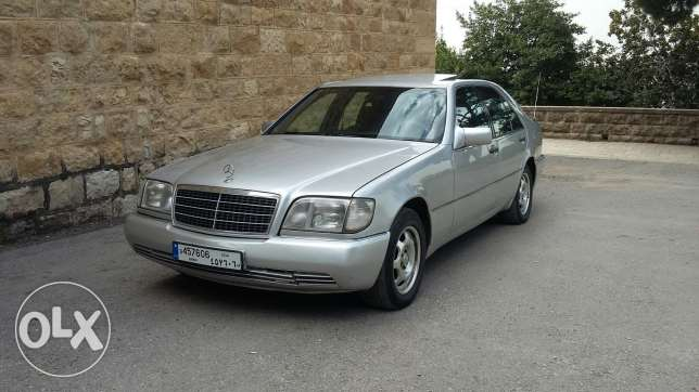 Mercedes 300SE model 1992 like new