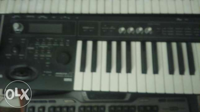 Korg MicroX synthesiser as new in case.