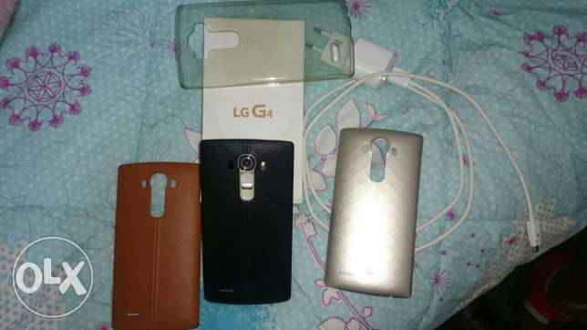 LG G4: 32GB, 3 RAM, 16Mp main camera and 8Mp selfie camera الكورة -  4