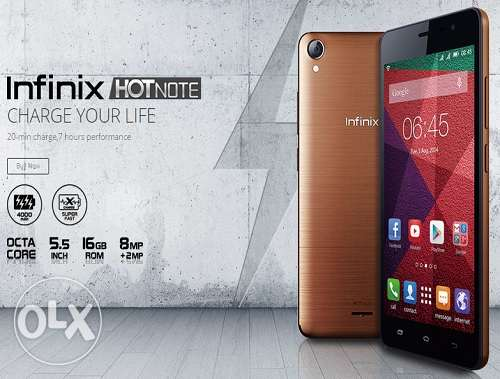 Infinix hot note