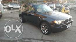 Bmw X3 3.0si 2004 full options very clean تقسيط عبر البنك