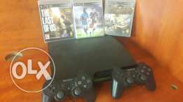 New ps3 for sale with 3 cd's
