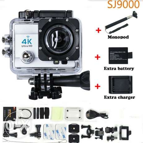 New action camera + remote