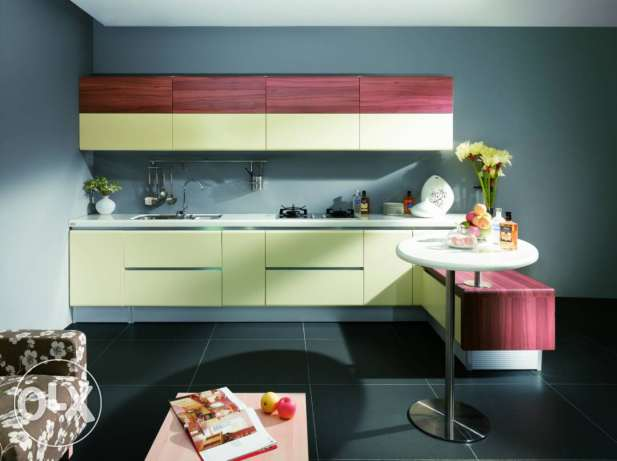Wood style for kitchen & decoration