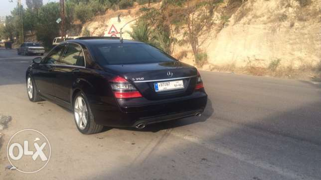 mercedes s350 L look AMG, with plate number 97097 راس  بيروت -  3