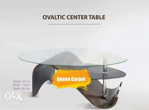 Ovaltic Center Table