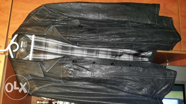 Elmas real leather jacket