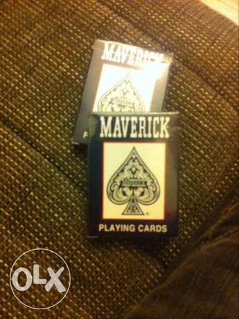 1 original mavericks playing cards