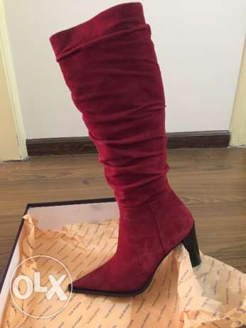 Red Swede Boots