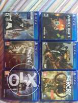 New PS4 Games.