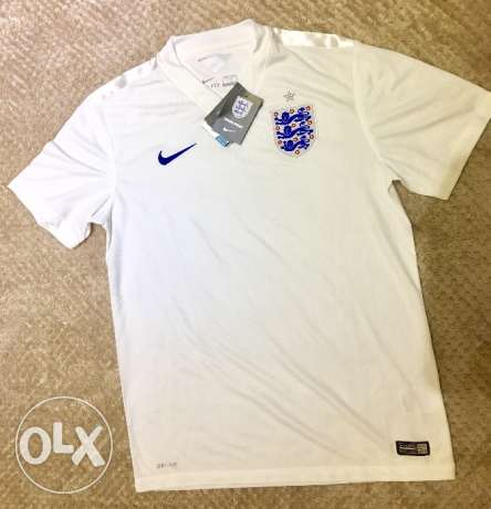 England national team original Football Nike Jersey