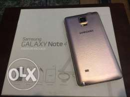 Samsung note 4 like new super clean gold full package