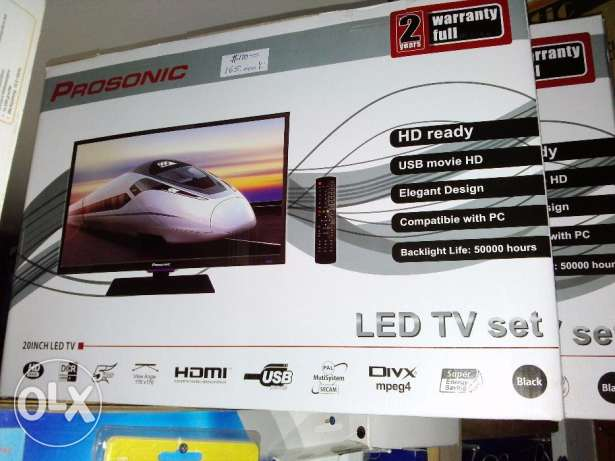 Prosonic LED HD TV/PC Monitor