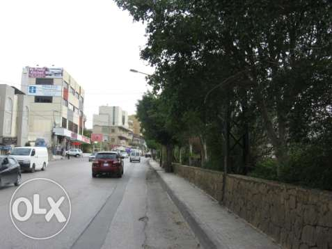 Land 2500sqm for sale on the main road Mkalles-Mansourieh