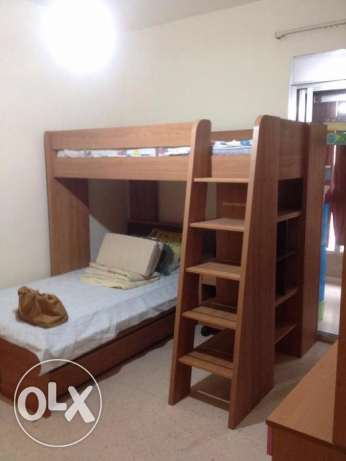 Kids Room: New bunk beds with shelves/New desks-Excellent condition!!!