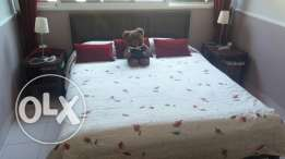 Full Bedroom furniture + Curtains + Bedcover