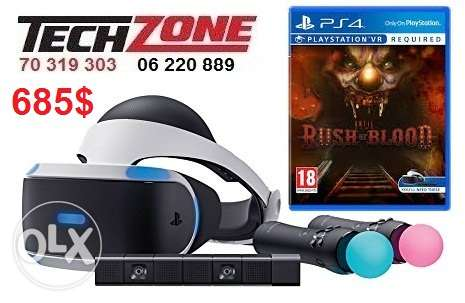 playstation vr for ps4 fulla package