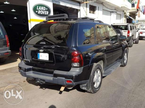Trail Blazer LTZ-2005-Black-Beige Leather-Sunroof-0 Accidents-1 Owner أشرفية -  4