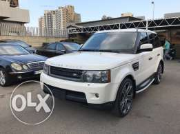 Land Rover RR Sport Luxury 2010 white