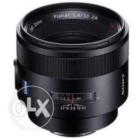 Sony 50mm f/1.4 Carl Zeiss Planar T* ZA LENS