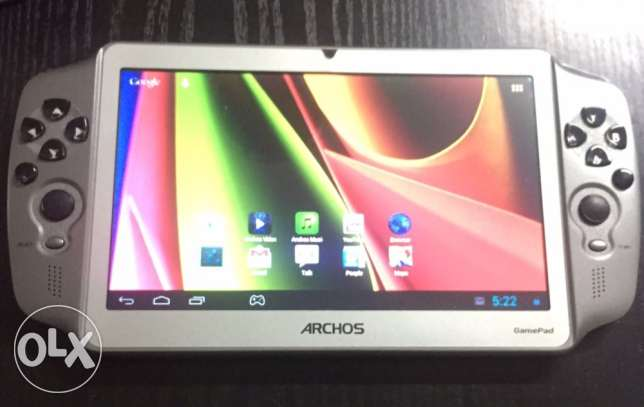 Archos gamepad 4.1.1 android,wifi,hdmi out, front camera