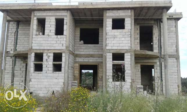 unfinished villa for sale