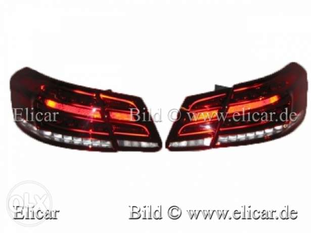 Mercedes Tail Lights / Rear Lights Set left & right For E-W212