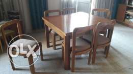 Wooden furniture massif good condition.