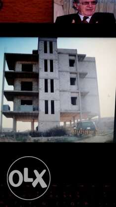 buildding for sale 4 floors under construction with land 550sqm