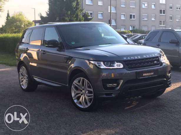 Range Rover Sport Autobiography 2014 grey on brown, German, Full !!!