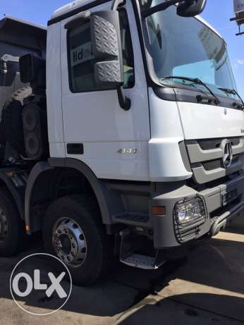 mercedes benz Actros 4141 , 2012 low milage full options