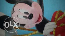 Disney Mickey Mouse curtains