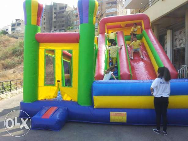 Castle Combo Inflatable Gonflable Game ألعاب نفخ