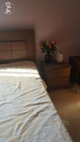 Bedroom of fine wood for sale barely used