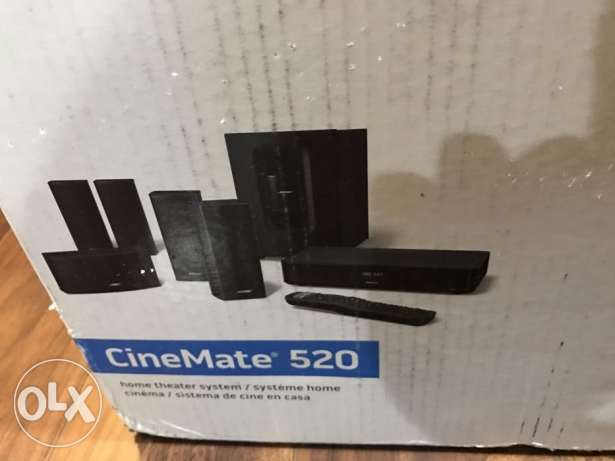brand bose cinemate 520 home theater system 5.1