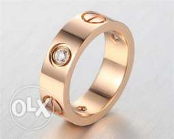 Cartier rings plated