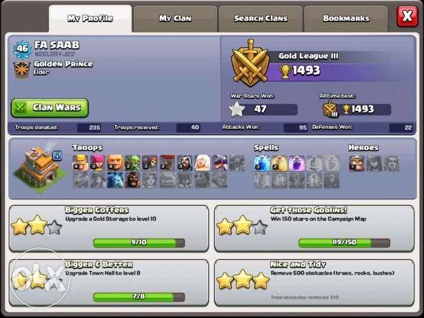clash of clans town hall 7r