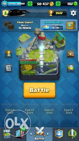 Clash roye + clash of clans