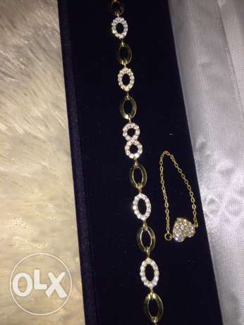 Gold bracelet and ring فتقا -  2