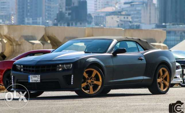 super clean chevrolet camaro 2012 rs convertible
