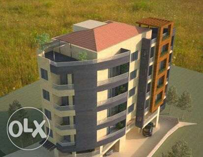 Fanar 28 with great view over Beirut 2 & 3 B/R duplex