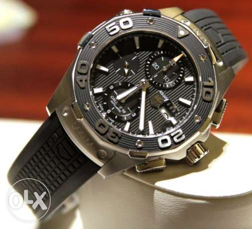 TAG Heuer Aquaracer 500m Chronograph Automatic 1 owner