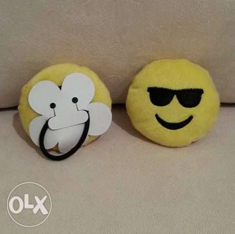 Emoji Hair Rubber Band المرفأ -  5