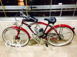 bicycle with engine