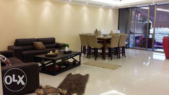 Furnished apartment in Dbaye 165 mtr and 25 terrace 275.000$ ضبيه -  4