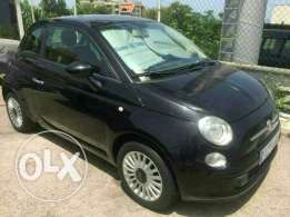 Fiat 500 1 owner guarantie 1 year black on black full farech jeled
