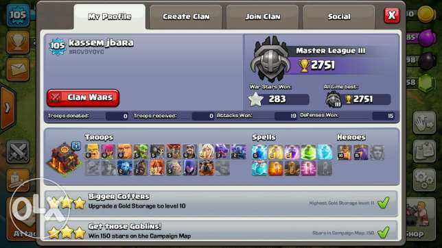 Clash of clans Th:10